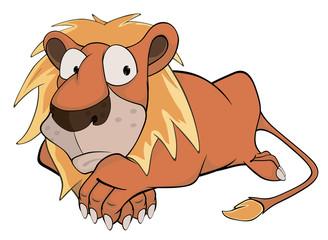 Lion. Cartoon