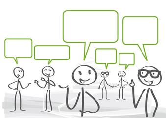 Versammlung, Diskussion, Dialog