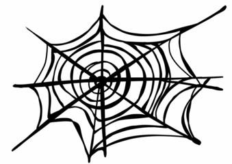 doodle Spider Web