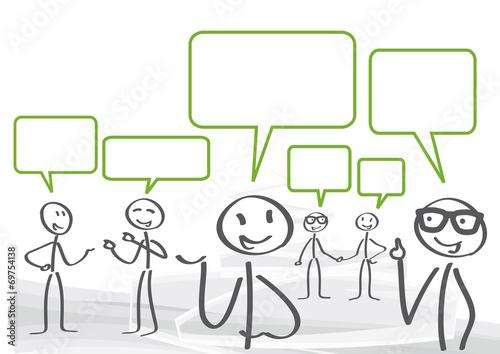 Versammlung, Diskussion, Dialog - 69754138