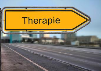 Strassenschild 14 - Therapie