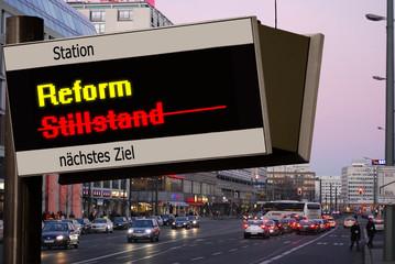 Anzeigetafel 5 - Reform