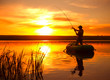 Leinwanddruck Bild - Fisherman