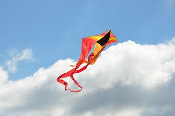 colorful kite in sky