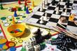 Leinwanddruck Bild - Board game