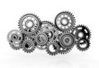 gears isolated on white background. 3d render - 69758332