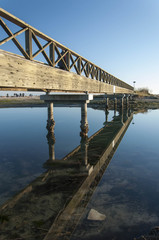 Riflesso del ponte