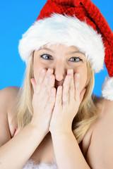 Weihnachtsmann völlig überrascht