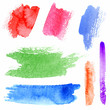 watercolor strokes