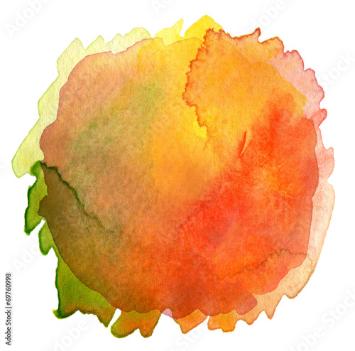 Fotobehang Geschilderde Achtergrond Abstract watercolor hand painted background. Textured paper.
