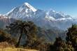 View of mount Dhaulagiri - Nepal
