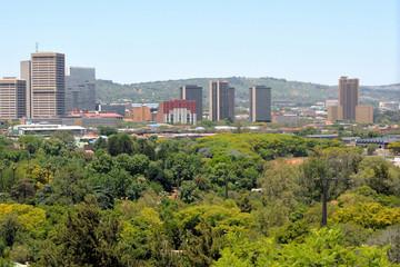 Pretoria central business area