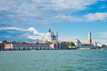 Grand canal view. Venice, Italy.