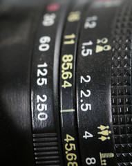 Vintage lens from USSR