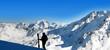 canvas print picture - sport d'hiver