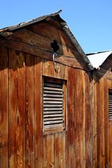vecchia cabina balneare
