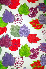 foglie colorate