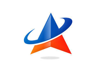 triangle orbit business finance logo