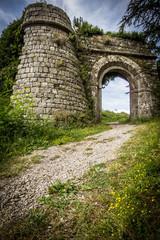 Entrata per il castello di Radicofani