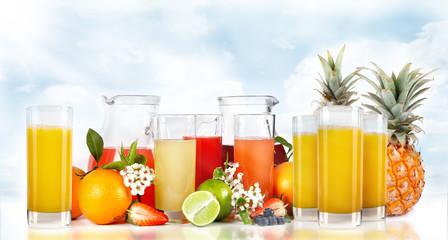 Spremute di frutta e frullati