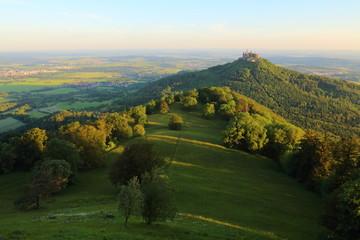 Hohenzollern Sonnenaufgang