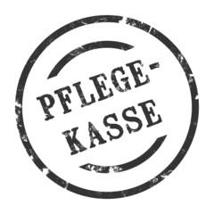 sk153 - StempelGrafik Rund - Pflegekasse - g1583