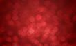 Red blur bokeh backround
