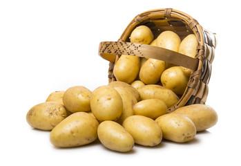 Patatas y cesto
