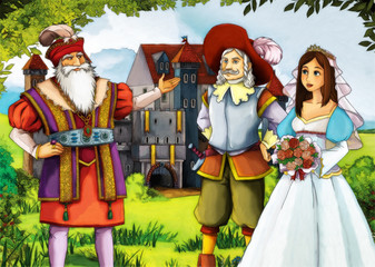 Scene for different fairy tales