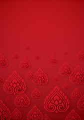 Cover Design Asian traditional art Vector.