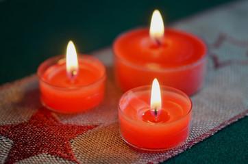 Weihnachten, Advent, Dekoration, Kerzenschein