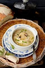 autumn mushroom soup