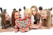 junge Frauen auf dem Oktoberfest