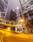Fototapety Hong Kong at night