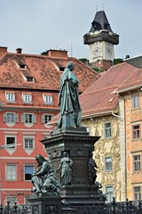 Erzherzog-Johann-Brunnen in Graz