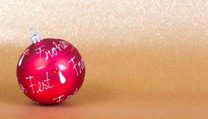 Weihnachten/Weihnachtskugel