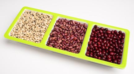 Raw grains.