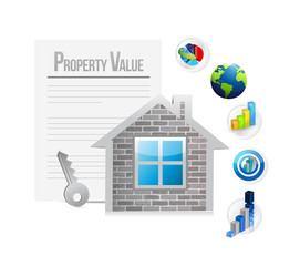 property value illustration design