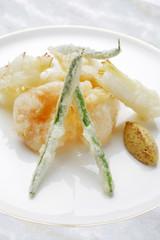 野菜と海鮮のフリット
