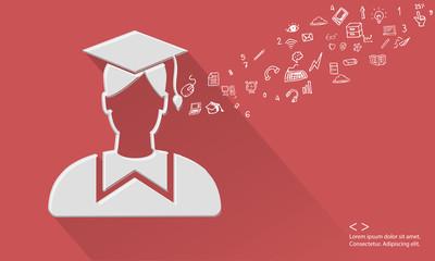 Education concept,vector
