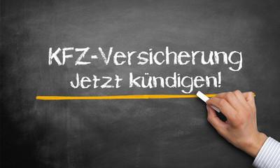 KFZ-Versicherung jetzt kündigen