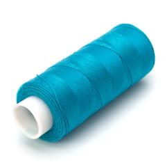 Blue spool of thread