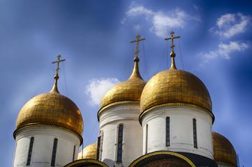 Cupole di Cattedrale Moscovita
