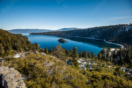 Emerald Bay at Tahoe Lake