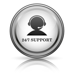 24-7 Support icon