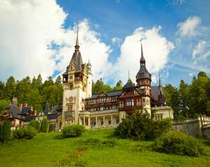 Pelesh castle, Romania.