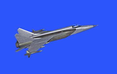 3d model of jetfighter