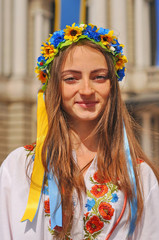 Ukrainian girl portrait