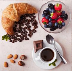 Composizione di colazione