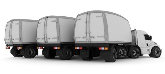Oversized Cartoon Truck